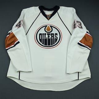 Strudwick, Jason White Set 2 Edmonton Oilers 2009-10 #43 Size: 58+
