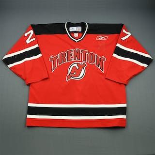 Castonguay, Eric Red Set 1 Trenton Devils 2008-09 #27 Size: 56