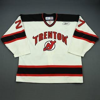 Castonguay, Eric White Set 1 Trenton Devils 2008-09 #27 Size: 56