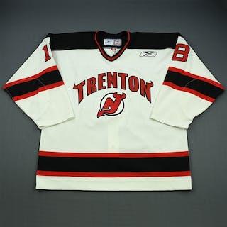 Pilkington, Brett White Set 1 Trenton Devils 2008-09 #18 Size: 56