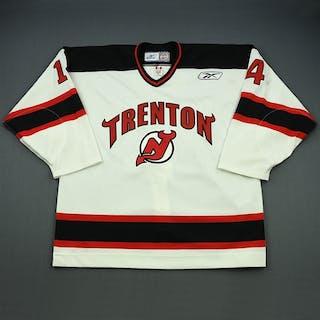 Poli, Chris White Set 1 Trenton Devils 2008-09 #14 Size: 56