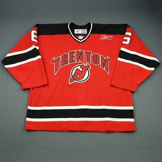 Quaile, Dylan Red Set 1 Trenton Devils 2008-09 #6 Size: 56
