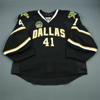 Nilstorp, Cristopher Black Set 2 w/ 20th Anniversary Patch - Game-Issued