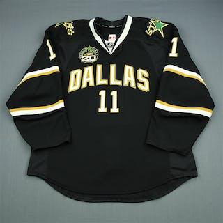 Roy, Derek Black Set 1 w/ 20th Anniversary Patch Dallas Stars 2012-13 #11