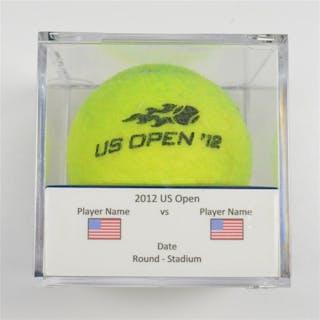 David Ferrer vs. Novak Djokovic Match-Point Ball - Men's Singles Semifinals