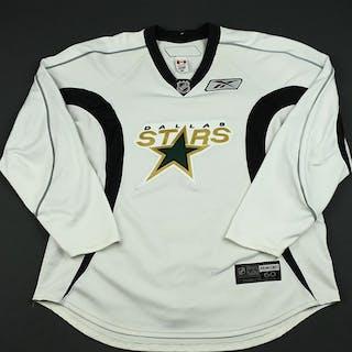 Reebok Edge White Practice Jersey Dallas Stars 2008-09 #N/A Size: 60