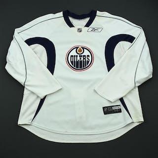 Reebok Edge White Practice Jersey Edmonton Oilers 2008-09 #N/A Size: 58+