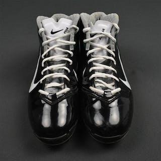 Burress, Plaxico Nike Cleats New York Jets 2011 #17 Size: 13