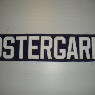 Ostergard, Brooks Purple Nameplate, CLEARANCE Orlando Solar Bears 2013-14
