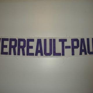Verreault-Paul, Francis White Nameplate, CLEARANCE Orlando Solar Bears 2013-14