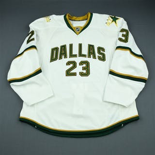 Wandell, Tom Third Set 2 - Game-Issued (GI) Dallas Stars 2009-10 #23 Size: 56
