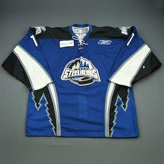 Kushniruk, Brandon Blue Set 1 Idaho Steelheads 2009-10 #11 Size: 56