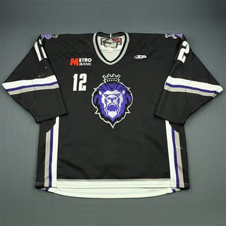 McLeod, Ben Black Set 1 Reading Royals 2009-10 #12 Size: 56