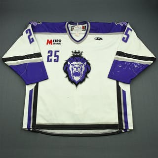 Sarauer, Andrew White Set 1 Reading Royals 2009-10 #25 Size: 58