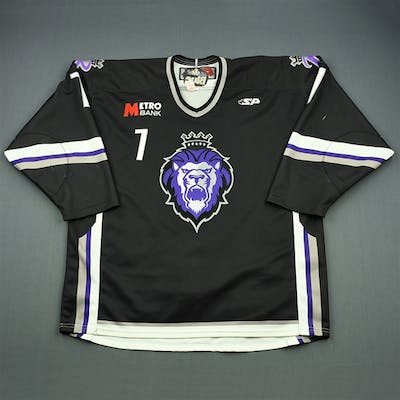 St. Pierre, Nick Black Set 1 Reading Royals 2009-10 #7 Size: 56