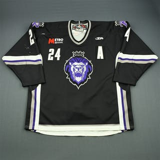 Stamoulis, Dinos Black Set 1 w/A Reading Royals 2009-10 #24 Size: 56