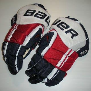 Ovechkin, Alex Bauer Vapor APX Pro Gloves Washington Capitals 2013-14 #8