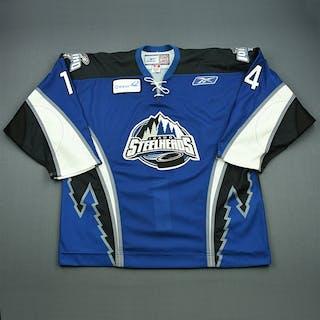 McCutcheon, Mark Blue Set 1 Idaho Steelheads 2009-10 #14 Size: 56