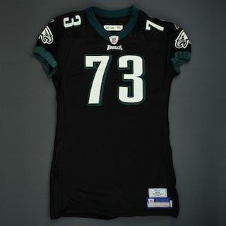 Andrews, Shawn Black Alternate Philadelphia Eagles 2006 #73 Size: 06-58 PBO