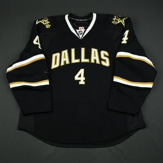 Jancevski, Dan Black Set 1 Dallas Stars 2008-09 #4 Size: 58