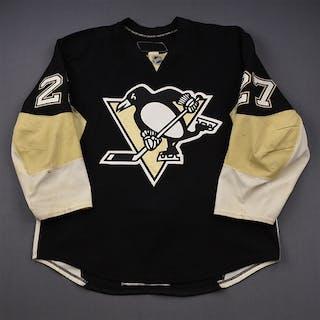 Adams, Craig * Black Set 1 Pittsburgh Penguins 2009-10 #27 Size: 56