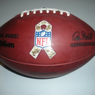 Game-Used Football Game-Used Football from November 25, 2013 vs. San