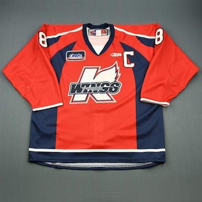 Ftorek, Sam * Red w/C Kalamazoo Wings 2009-10 #8 Size: 56