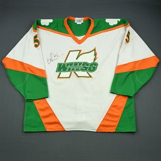 Rumble, Brent * St. Patrick's Day - Autographed Kalamazoo Wings 2003-04