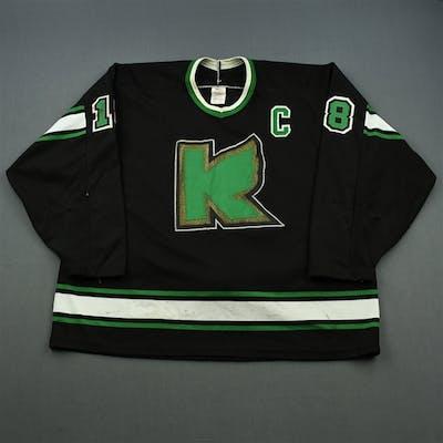 Robinson, Scott * Black w/C Kalamazoo Wings 1991-92 #18 Size: XL