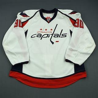 Johansson, Marcus White Set 2 Washington Capitals 2013-14 #90 Size: 58