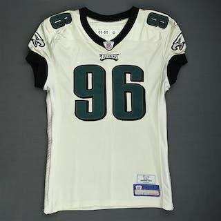 Gaither, Omar White - Rookie Season Philadelphia Eagles 2006 #96 Size: 50-O