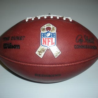 Game-Used Football Game-Used Football from November 17, 2013 vs. Philadelphia