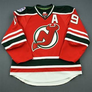 Zajac, Travis Red w/A - Stadium Series Period 2 New Jersey Devils