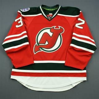 NNOB Red - Stadium Series - Game-Issued (GI) New Jersey Devils 2013-14