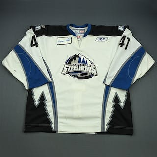 Bembridge, Garrett White Set 1 Idaho Steelheads 2008-09 #41 Size: 56