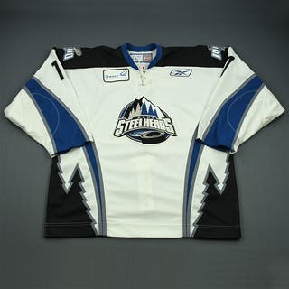 Bourne, Justin White Set 1 Idaho Steelheads 2008-09 #17 Size: 56