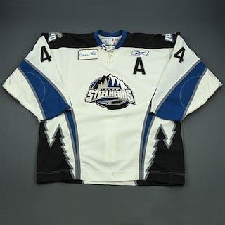 Hay, Darrell White Set 1 w/A Idaho Steelheads 2008-09 #44 Size: 56