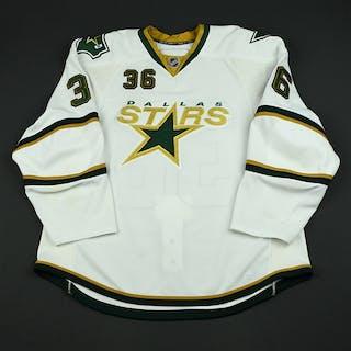 Stafford, Garrett White Set 1 Dallas Stars 2008-09 #36 Size: 58