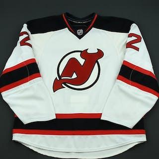 Brookbank, Sheldon White Set 2 - Game-Issued (GI) New Jersey Devils