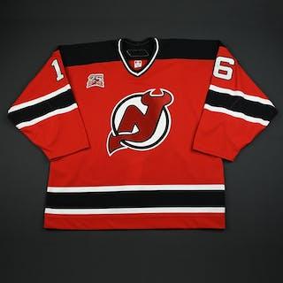 Wiemer, Jason * Red Set 1 GI w/25th Patch New Jersey Devils 2006-07