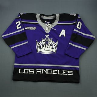 Robitaille, Luc * Purple Alternate Set A w/A, Staples Center Opening