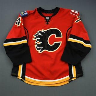 Baertschi, Sven * Red Set 1 Calgary Flames 2013-14 #47 Size: 54