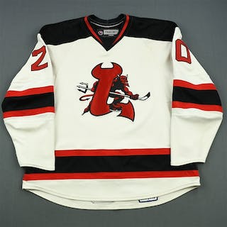Murphy, Ryan (J.) White Set 1 (A removed) Lowell Devils 2007-08 #20 Size: 58