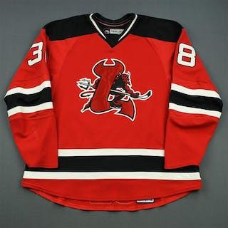 Ruggeri, Rosario Red Set 1 Lowell Devils 2007-08 #38 Size: 58