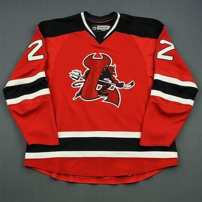 Ryznar, Jason Red Set 1 Lowell Devils 2007-08 #22 Size: 58