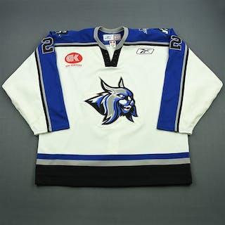 Hynes, Shane White Set 1 Augusta Lynx 2007-08 #22 Size: 58