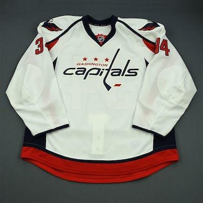 Kane, Boyd White Set 1 - Game-Issued (GI) Washington Capitals 2012-13