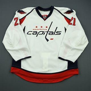 Laich, Brooks White Set 1 Washington Capitals 2012-13 #21 Size: 56