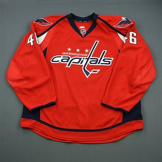 McNeill, Patrick Red Set 1 - Game-Issued (GI) Jersey Washington Capitals