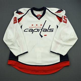 Perreault, Mathieu White Set 1 / Playoffs Washington Capitals 2012-13